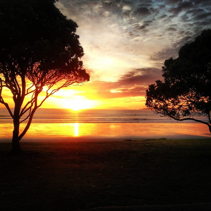Orewa beach , Auckland , New Zealand.