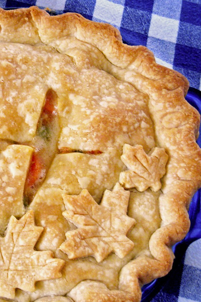 Chicken Pot Pie- Chicken Pot Pie is the perfect cold-weather dish. Enrobe your favorite gravy-laden chicken and vegetables with flaky pie crust and settle in for the winter.