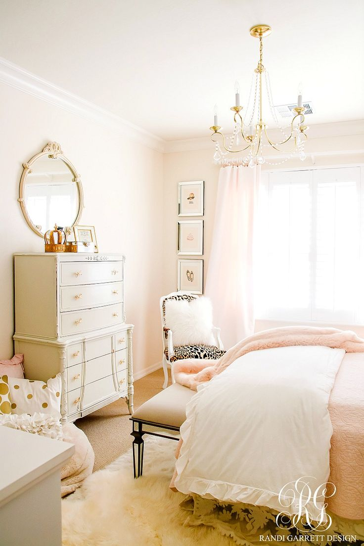 Blush Pink Lace Bedroom Makeover - Easy Tips to Refresh your Bedroom