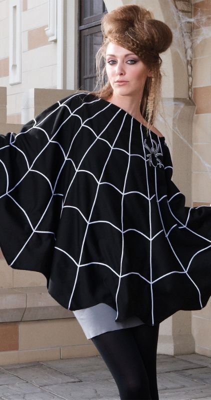 how to make a spider web costume