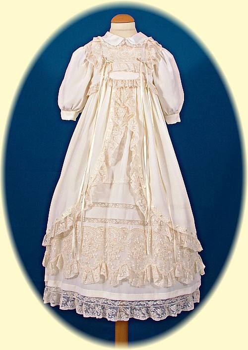 Italian Christening Gowns Handmade Italian Silk