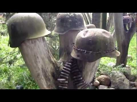 A WWII battlefield complete with the remains of Japanese soldiers was found in the jungles of Papua New Guinea in 2010.  http://www.pagahillestate.com/exploring-world-war-ii-relics/