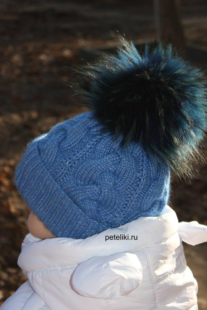 шапка с косами