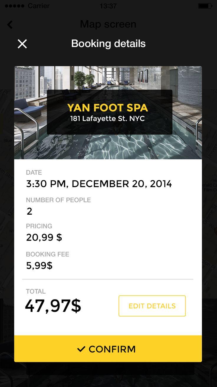 Booking app #app #ui