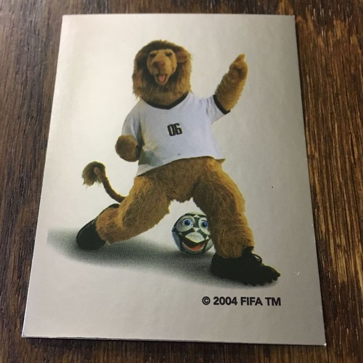 FIFA OFFICIAL MASCOT, PANINI STICKER, WORLD CUP GERMANY 2006 #GER2  | eBay