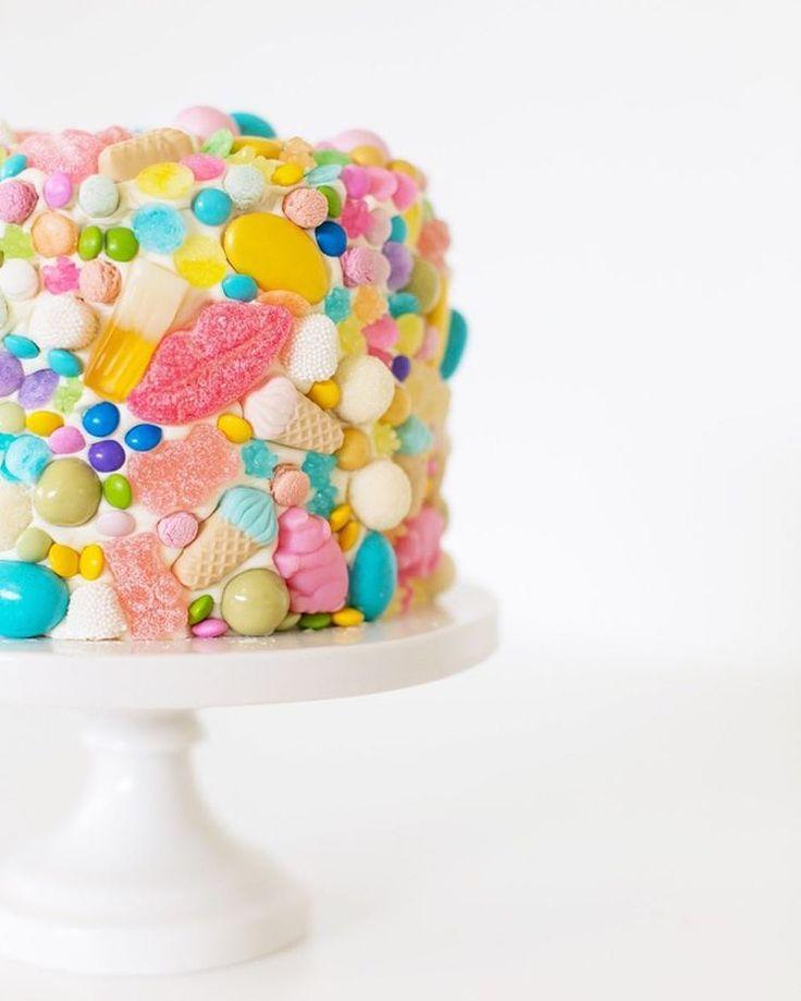 Gummy Covered Cake