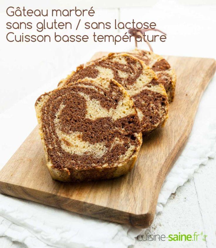 Recette du marbré sans gluten ni lactose