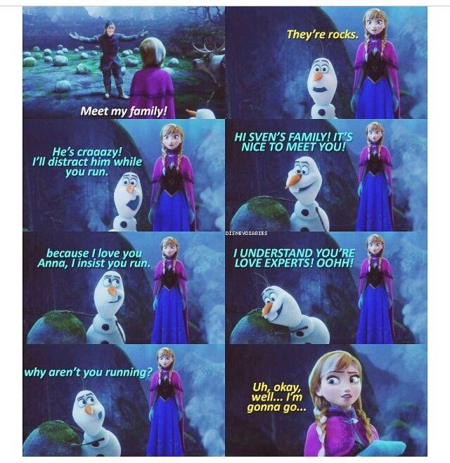 Frozen - funny
