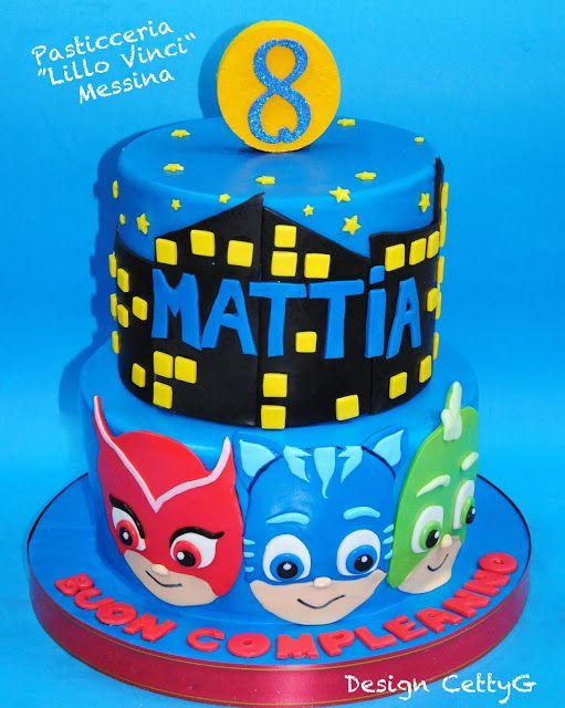 Le torte decorate di Cetty G: Torta super pigiamini...