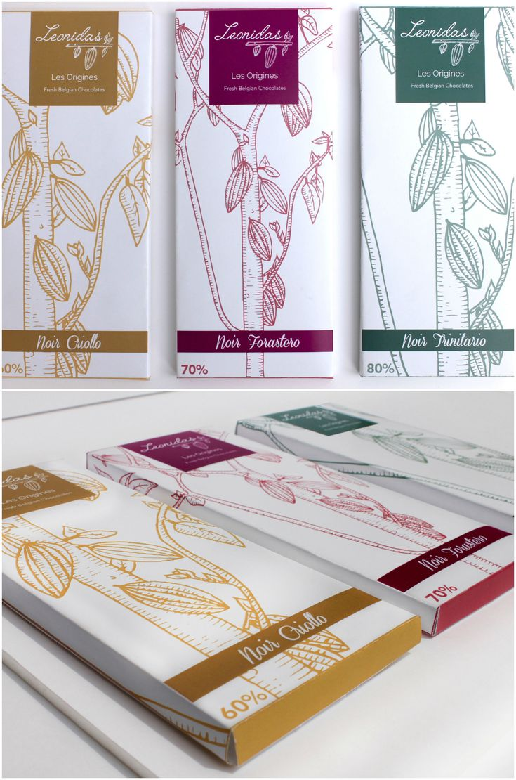 Redesigned Concept of Leonidas Brand and the Creation of New Chocolate Packaging Range Designer / Design Agency : Elodie Sabatier Project name : Leonidas Category: #Confectionary #Chocolate