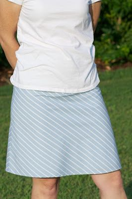 Lots of resources for sewing a line skirts