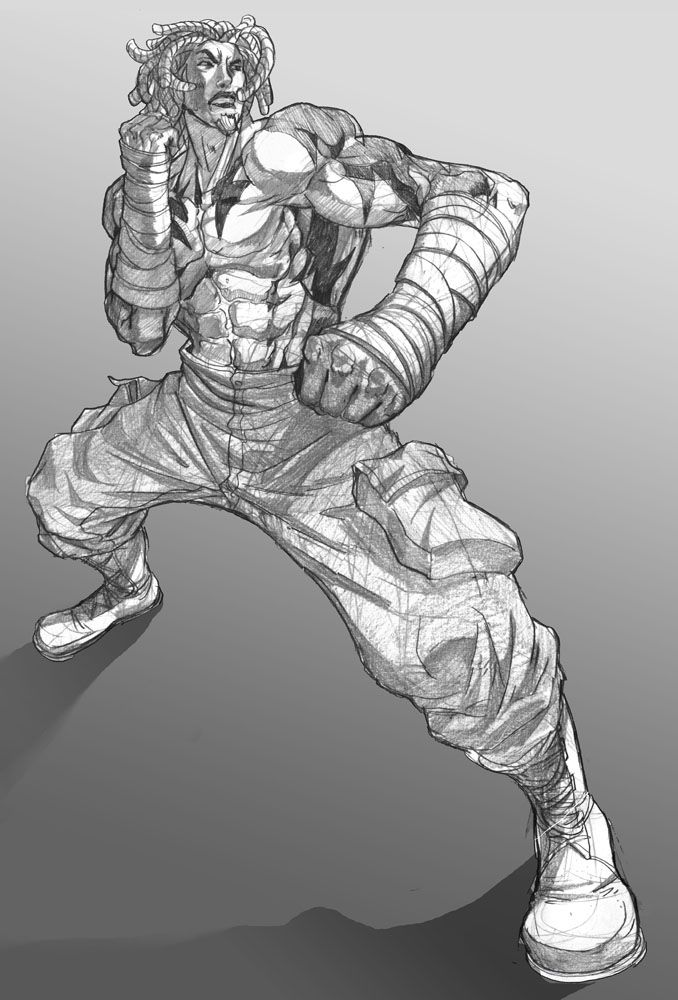 Shodowboxer action comission by Brolo