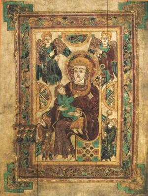 Book of Kells (Mary and child) - see ARH 3728 Class Notes 1-24-12