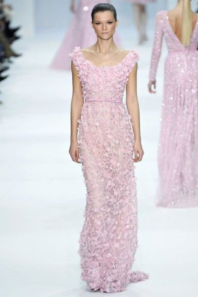 Elie Saab: Pink Wedding, Eliesaab, Ellie Will Be, Pale Pink, Elie Saab Spring, Elie Saab Couture, Hautecouture, Wedding Colors Palettes, Haute Couture