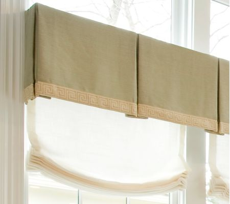 Box Pleated Valance
