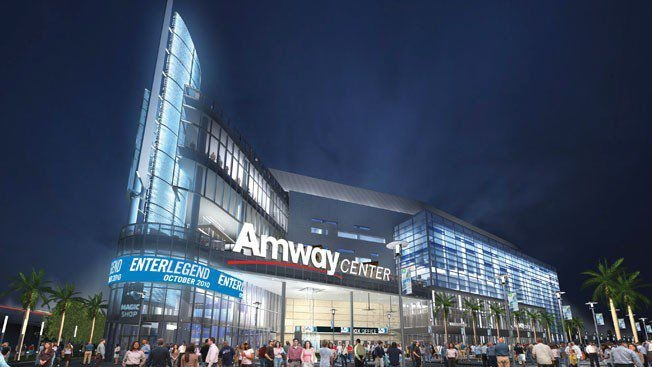 Amway Center: A magnificent sports arena in the downtown area of Orlando. It is one of the entertainment venues included in the Master Plan 3, which involves advanced improvement of the facility. It is the sports venue where the NBA 2012 All Star game was held. It is also the home of the Orlando Solar Bears, Orlando Predators and the Orlando Magic.
