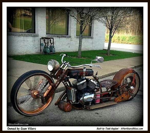 Tractor Seat Motorcycle : Rat repinned by blickedeeler motorized vehicles