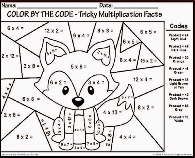 Fun Printable Worksheets 7th Grade In 2020 With Images Math