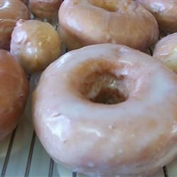 My Mom's Raised Doughnuts Allrecipes.com  I have been on the search for a good donut recipe. Harder than you would think .  I will try this one real soon.