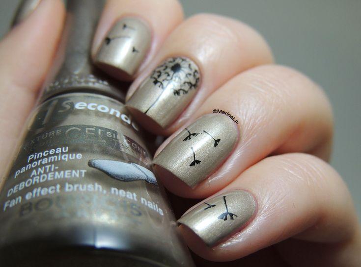 The 25 best dandelion nail art ideas on pinterest pretty nails nailpolis museum of nail art dandelion nails by marine loves polish prinsesfo Gallery