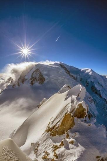 Le Mont-Blanc - France - Nicolas Machiavel : Gouverner, c'est faire croire. Governare è far credere.
