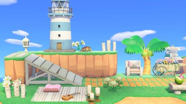 Pretty Happy With My Diving Spot Animalcrossing In 2020 Animal Crossing Diving Animals