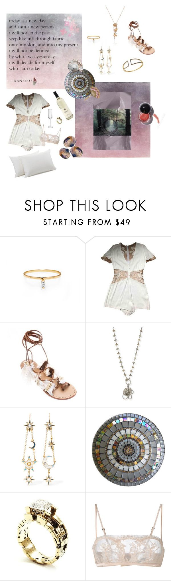 """Honeymoon"" by philomenesworld ❤ liked on Polyvore featuring Sheryl Lowe, Diego Percossi Papi, John Brevard, La Perla, love, tumblr, ootd and Honeymoon"