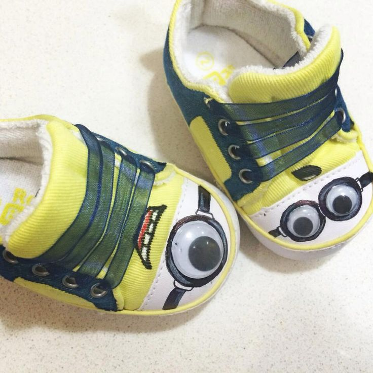 Minion mini shoes