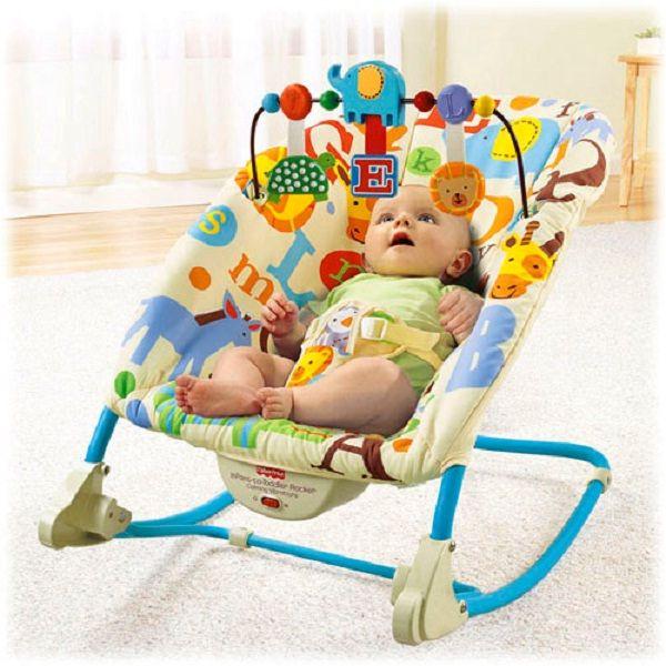 Fisher Price Infant to Toddler. bouncher keren dengan fungsi lengkap. Bisa dijadikan kursi dan dilengkapi dengan bantal anti peang.