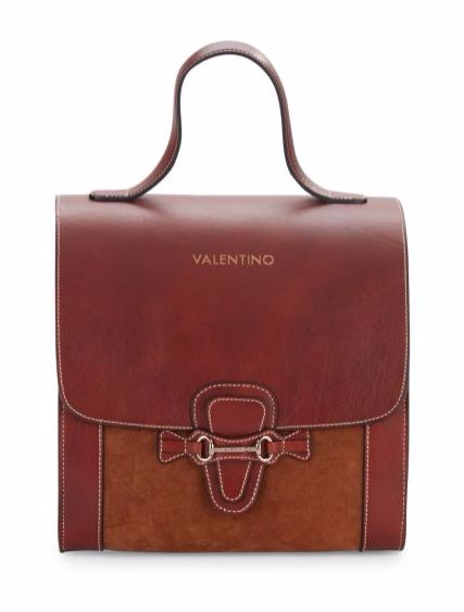 Valentino by Mario Valentino | Top-Handle Leather Bag | SAKS OFF 5TH