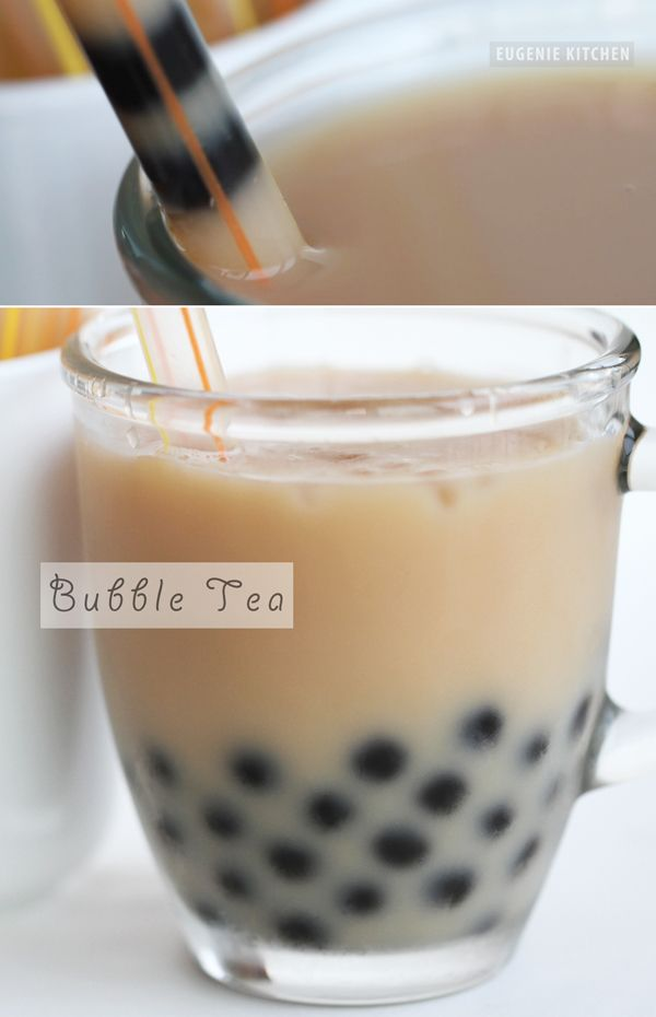 Tapioca Bubble Tea Recipe - Boba Milk Tea - Eugenie Kitchen