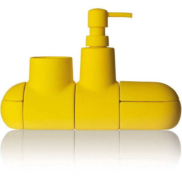 Bathroom Accessories Yellow