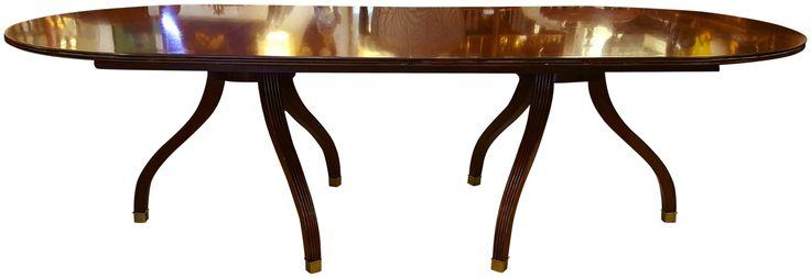 Traditional Ralph Lauren Mahogany Dining Table on Chairish.com