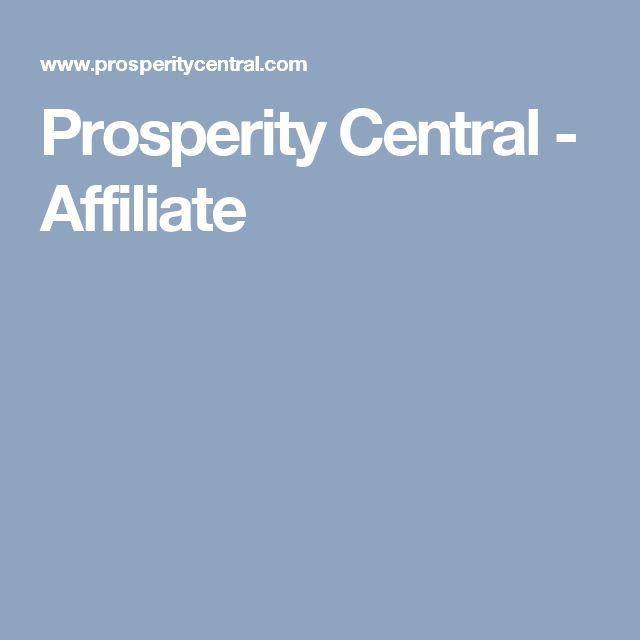Prosperity Central - Affiliate