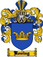 The arms are registered in Holland. The name is a translation of the Yiddish male given name MEYLEKH meaning 'God is my king', one of severa...