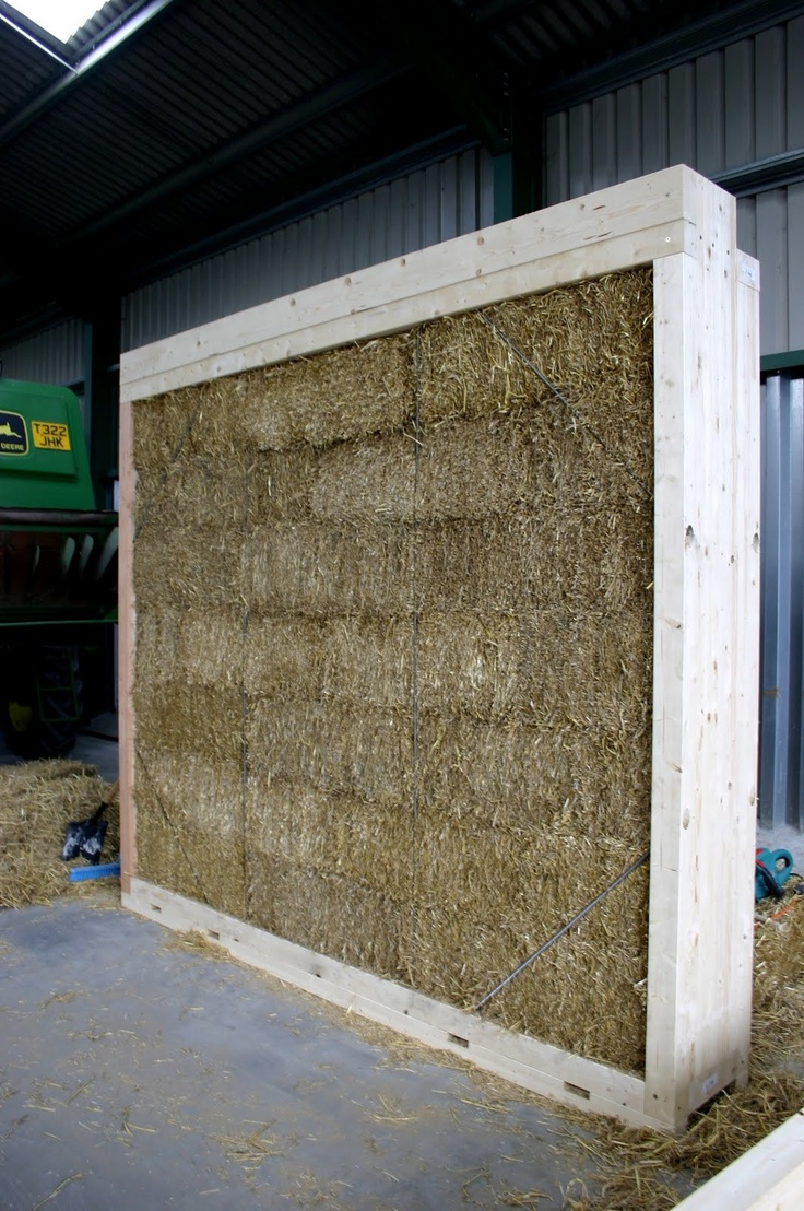 recycled architecture: Straw bale construction - ModCell ...