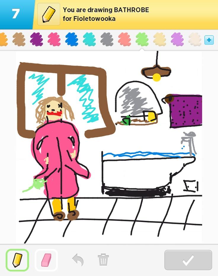 wanna nieudana :( i pani Jockerowa w łazience :P