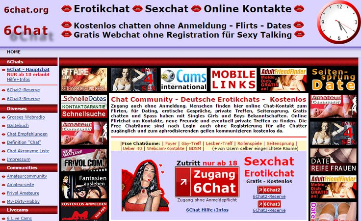 Flirten per Online Chat - kostenlos und ohne Anmeldung…