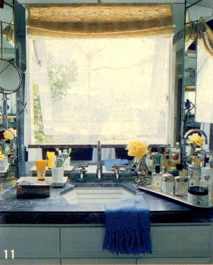 Jeffrey Alan marks bathroom- HOLLYWOOD HILLS  #jeffreyalanmarks #JAM #Themeaningofhome