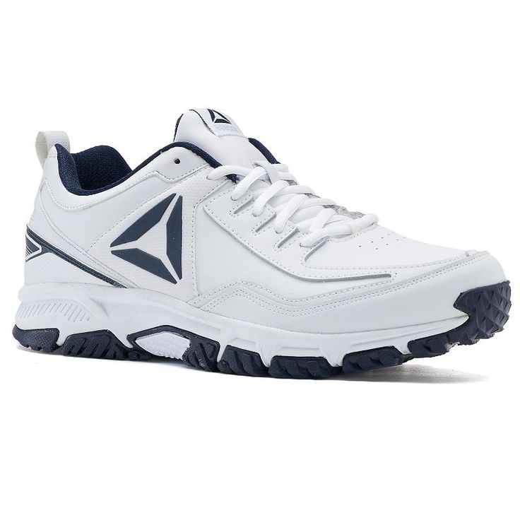 Reebok Ridgerider Men's Leather Training Shoes, Size: medium (11.5), White