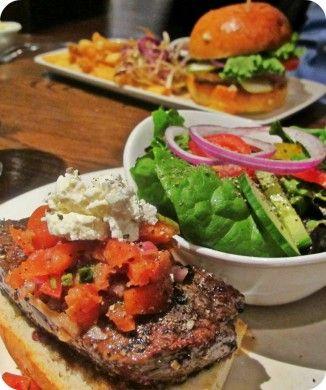 Mediterranean Steak Sanwich at the Southside Keg in Winnipeg, MB #lunchfeature