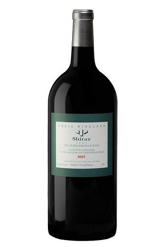 Barossa Wine Chapters Auction 2015: Live Auction Lots  Lot 5L  Chris Ringland  Dry Grown Barossa Ranges Shiraz 2007. 3.0L Double Magnum.
