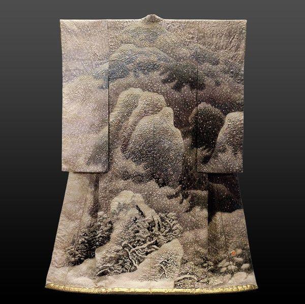 Kimono as art by Itchiku Kubota