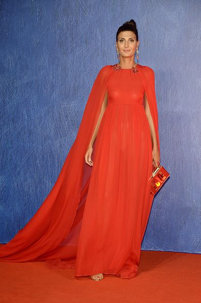 Giovanna Battaglia attends the premiere of 'Nocturnal Animals' during the 73rd Venice Film Festival at Sala Grande on September 2 2016 in Venice Italy