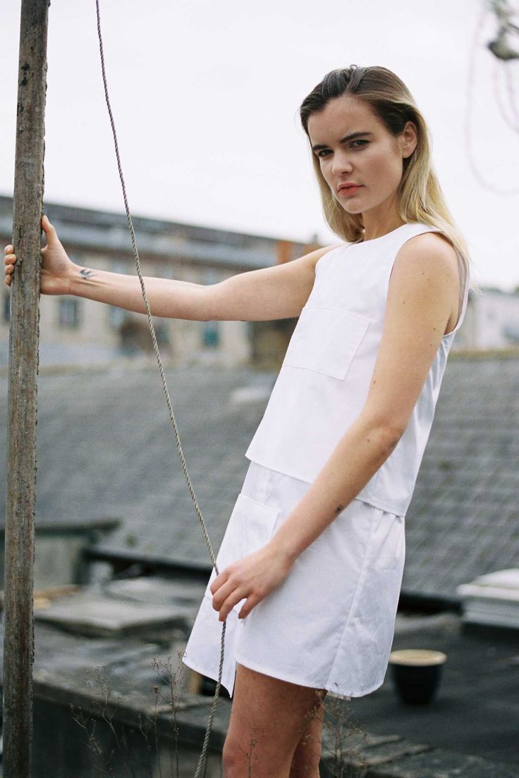 #ss15 #edeltraynor #fashion #whitecotton
