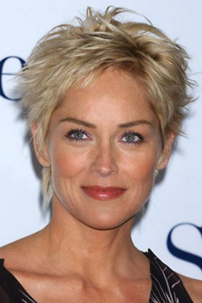 Short Blonde Haircuts for Older Women