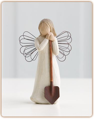 """""""Bringing forth a garden of love and beauty"""" Size: 5.5"""" tall A lovely gift for any loved one!"""