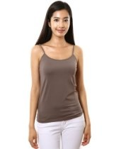 Doubljub Womens Dupont Sleeveless Cami Tank Tops (KWT011)