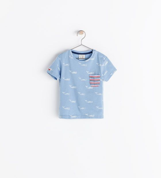 Image 1 of WHALES T-SHIRT from Zara