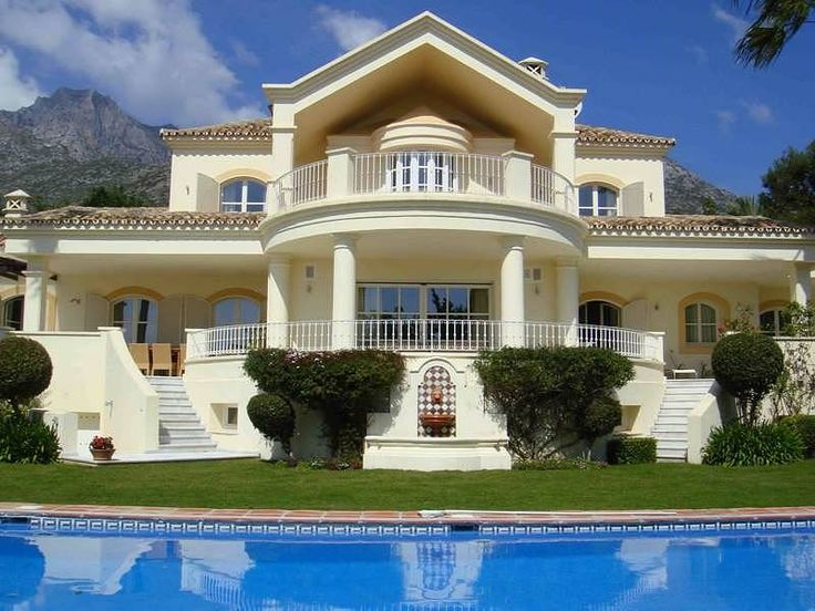 Magnificent villa in marbella spain beautiful for Homes in the us